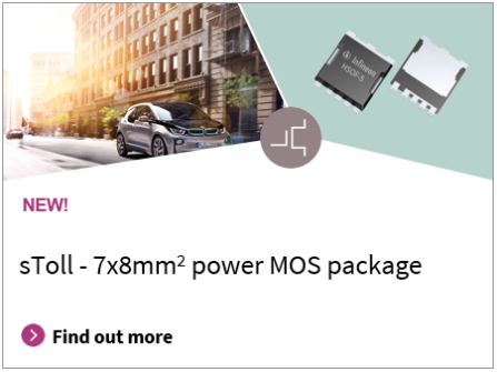 sTOll new 7x8 mm power MOS package