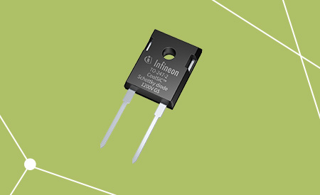 CoolSiC™ Silicon Carbide Schottky diodes 650 V in TO-247-2 package.
