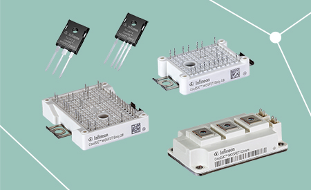 CoolSiC™ MOSFET 1200 V products in discrete, Easy and 62mm housing.