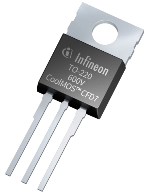 Infineon package picture TO220 600V CoolMOS CFD7