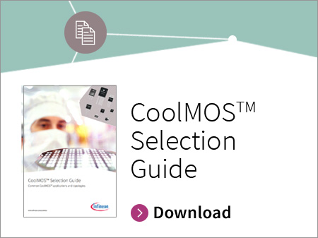 Infineon button CoolMOS™ Selection Guide