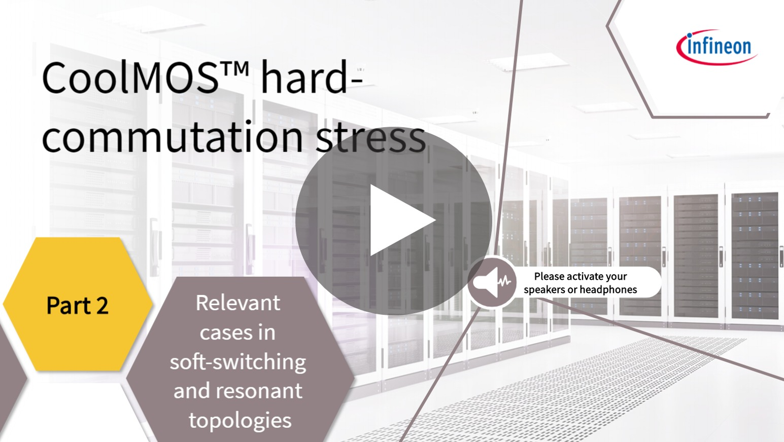 infineon elearning CoolMOS™ hard commutation stress (Module 2)