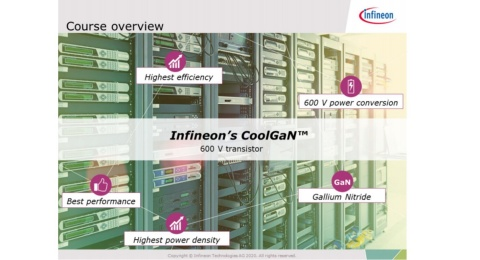 Infienon training CoolGaN 600V fundamentals