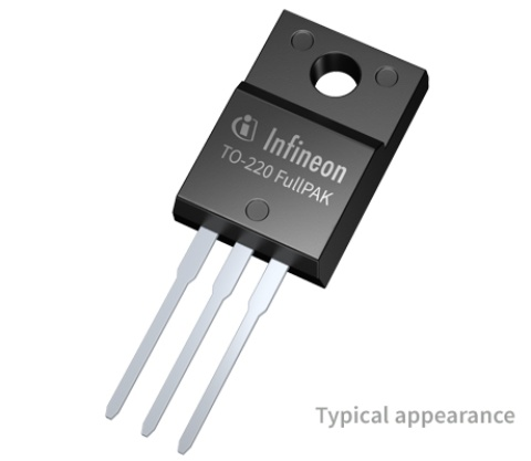 Product Picture for IGBT Discretes in TO-220 Full-Pak package