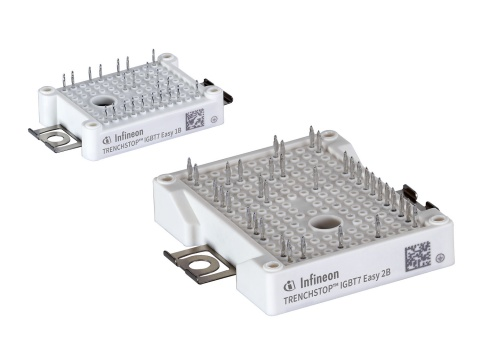 Packaging of TRENCHSTOP IGBT7 Easy 1B and 2B