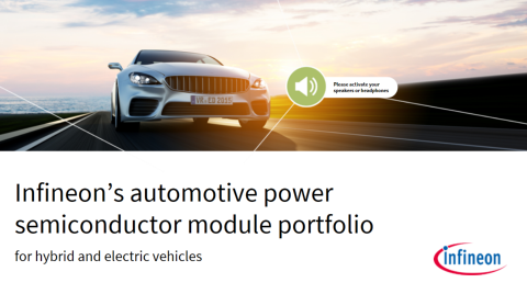 Infineon's automotive power semiconductor