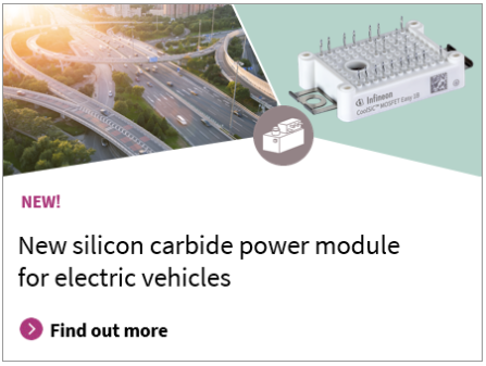 New silicon carbide power module for electric vehicles