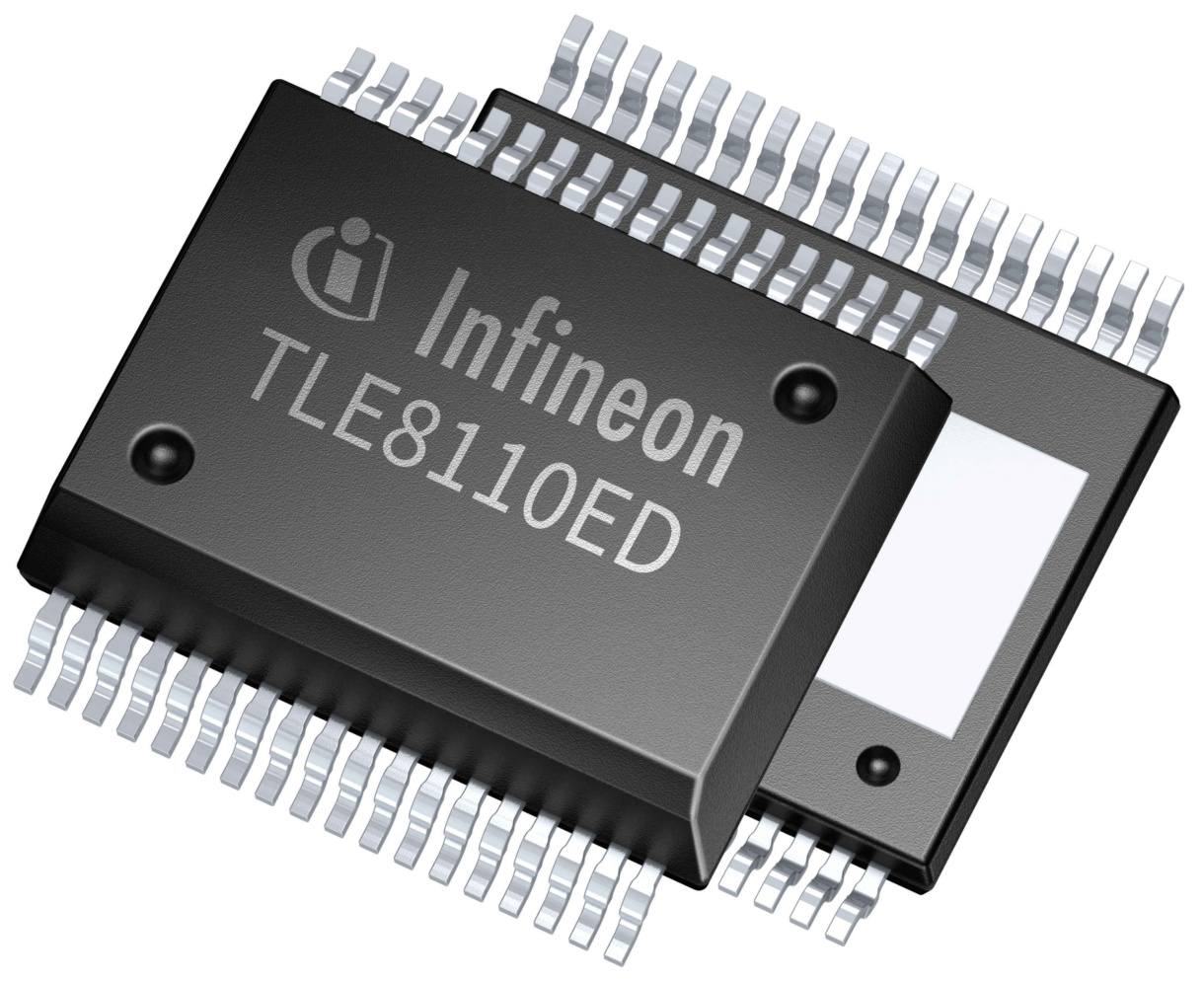Tle8110ed Infineon Technologies Mc Supply Co Bodine Electric Kb Electronics Brake Motor Stepper Buy Online