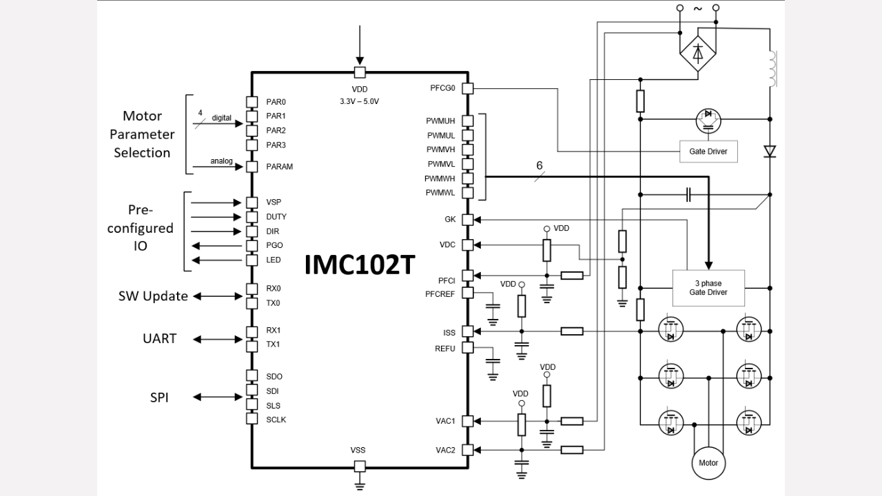 Imc102t F064 Infineon Technologies 64 Ac Circuit Calculations Motors 3 Phase Prevnext
