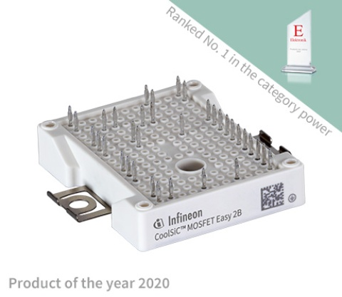 Product image for CoolSiC™ MOSFET modules in Easy 2B housing - Product of the year in the category power