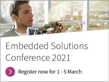 Infineon - Embedded Solutions Conference 2021