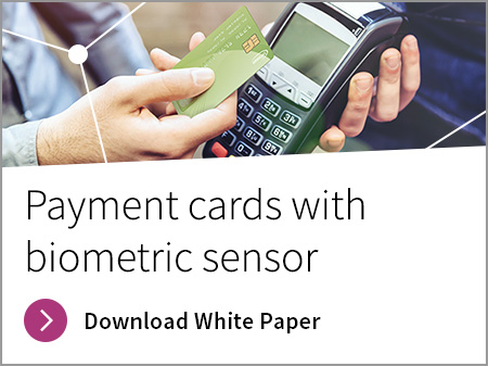 Payment cards with biometric sensor whitepaper