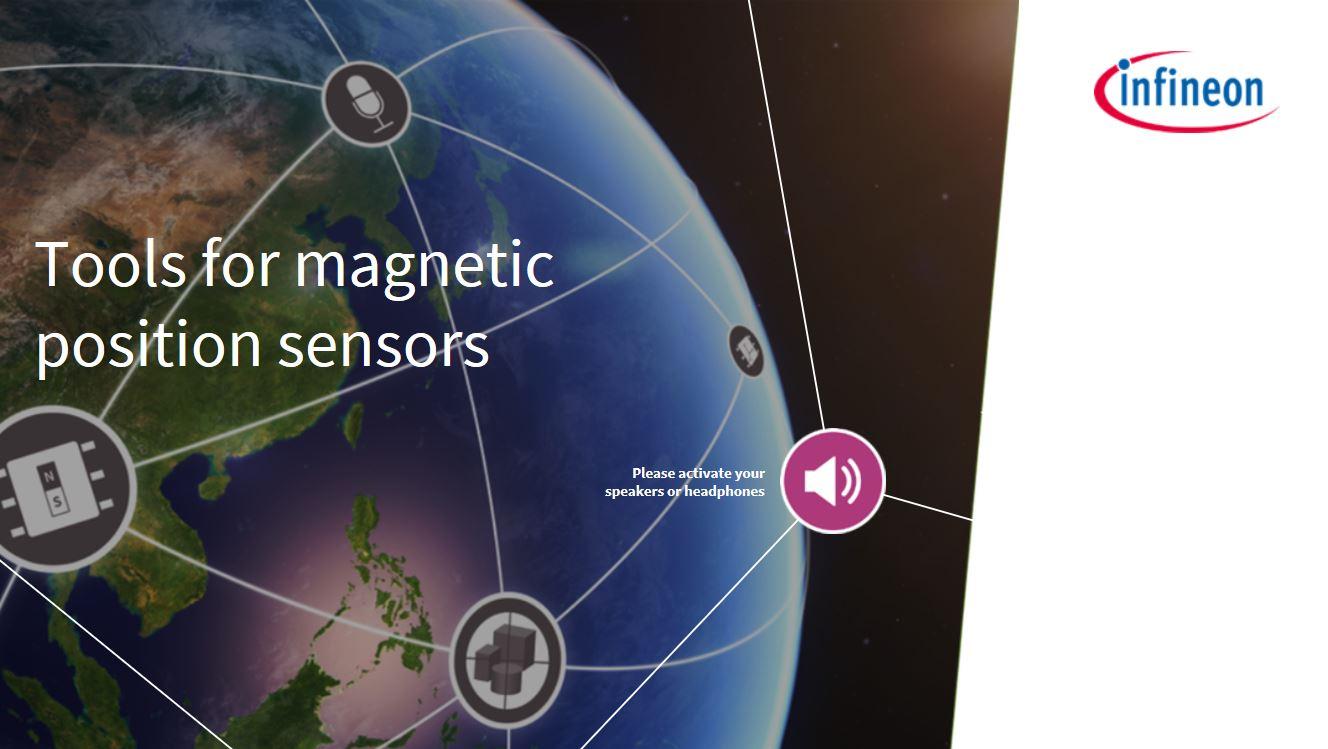 1 piece Magnetic Sensors 14-Bit Magnetic Snsr 11-Bit ABI Program Board Mount Hall Effect
