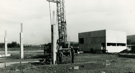 The first construction work for Hall 15