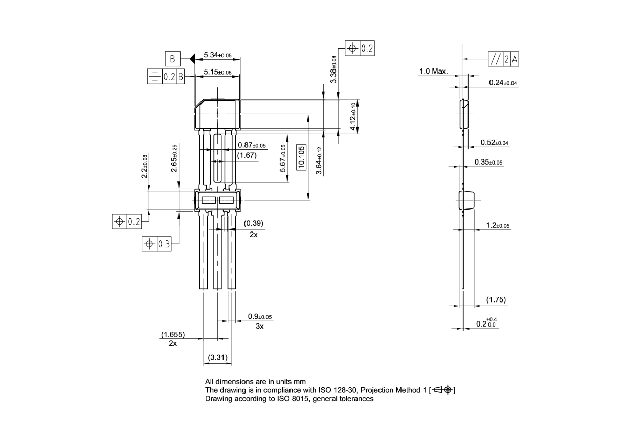 Pg Sso 3 52 Infineon Technologies Solid State Relay Form C Package Dimensions