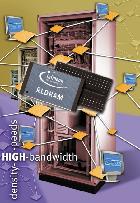 Infineon Technologies Introduces New Type of High Performance Memory, Specifically Designed for Networking and High-Speed Cache Applications
