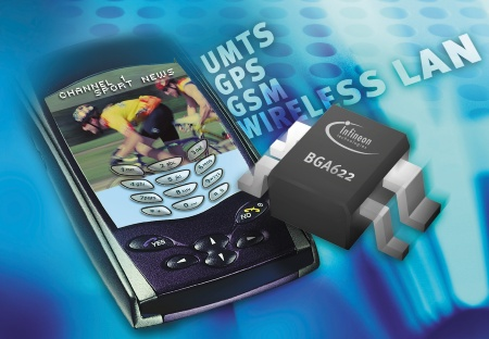 Infineon Technologies Introduces Fully Integrated SiGe Ultra Low Noise Amplifier for UMTS and further Mobile Applications