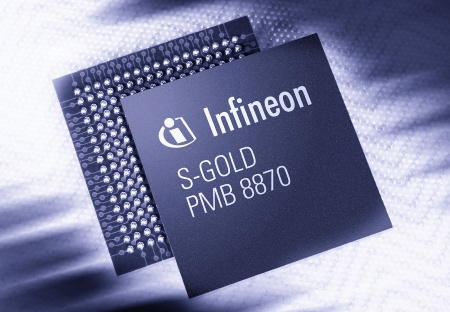 Infineon Launches S-GOLD: New Multimedia Baseband IC for GPRS and EGPRS Mobile Devices