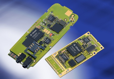Infineon offers modular cost-optimized system platforms for fast development of mobile devices including GSM/GPRS products