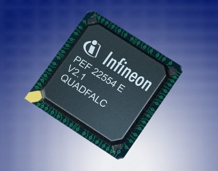 Infineon Introduces 4-Line T1/E1/J1 Framer and LIU Component with Smallest Footprint and Lowest Power Consumption
