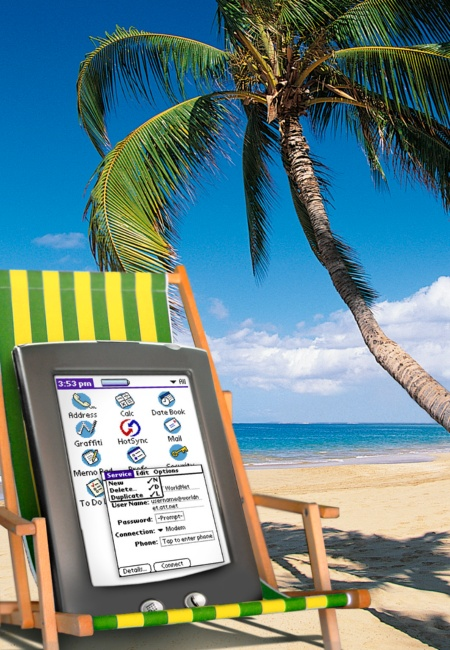 Multimedia in the Beach Bag: Infineon Enables PDAs to Become Entertainment Centers