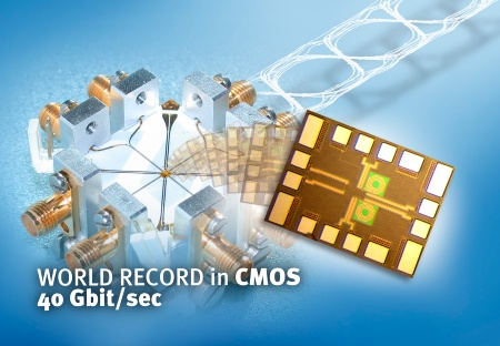 Infineon Technologies sets standards for high frequency communication ICs: More than 40 Gbit/s using CMOS technology for first time
