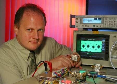 Dr. Werner Simbuerger, Head of High Frequency Research Department at Infineon Technologies
