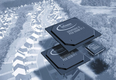 Infineon Technologies Geminax ADSL Solution Chosen by Siemens ICN for its XpressLink DSLAM