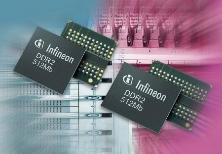 "The world´s smallest 512-Mbit DDR2 Memory Component by Infineon Technologies boots successfully with Intel´s new ""Lindenhurst"" Dual  Processor Server Chipset. New 512 Mb DDR2 components are fabricated using Infineon´s advanced 110 nanometer CMOS process technology."