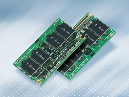 Infineon Extends Memory Portfolio with the World?s First DDR2 Memory   Module for Sub-Notebooks