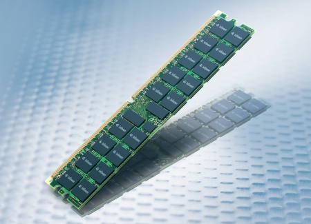 Infineon's new planar solution for 2 GB DDR2 modules is based on mature single-die components. System manufacturers will benefit from considerably flatter modules which with a thickness of 4.1 mm fulfil the requirements for DDR2 server applications and depending on the respective system configuration result in up to 10 percent reduced heat generation.