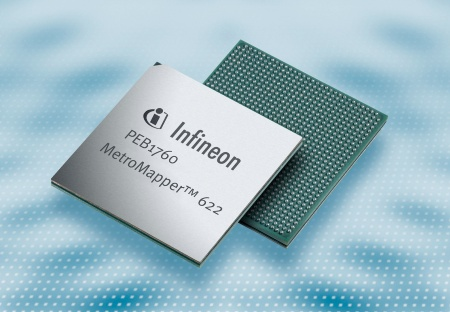 Infineon Introduces Industry´s Most Flexible Chip to Deliver Ethernet Services Over Existing Metropolitan Networks