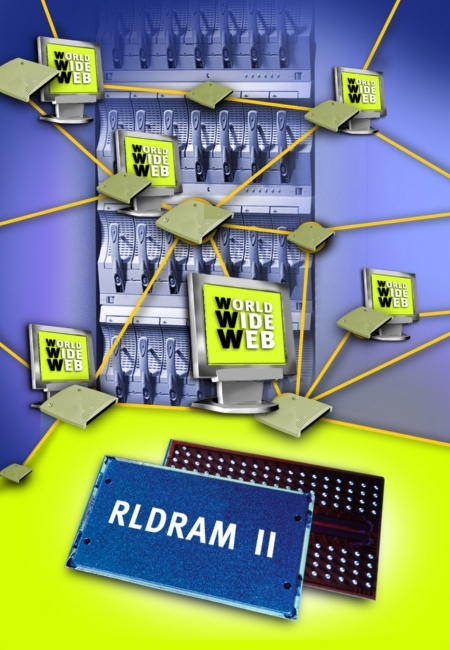 Infineon and Micron announce RLDRAM II Specification - Next-Generation, High-bandwidth Memory Architecture Targets Communication Data Storage Applications