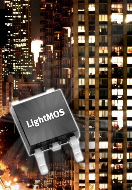 LightMOS(tm) from Infineon helps to reduce Power Demand for Lighting by up to 25 Percent