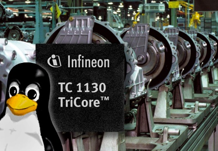 Infineon Announces Linux Capable 32-bit Microcontroller; Expands TriCore Processor Family with Chip for Industrial and Communications Applications