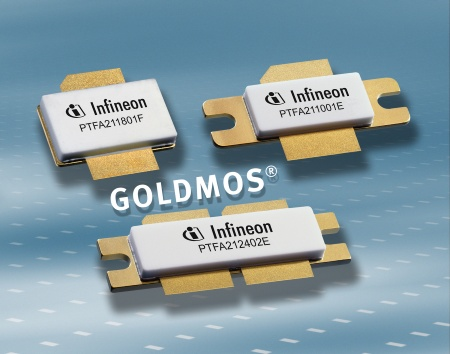 Infineon Introduces Next-Generation GOLDMOS® Technology and High-Power RF Transistors Optimized for Applications Requiring High Linear Efficiency