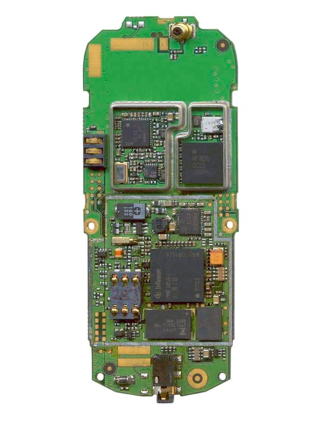 Today's simple GSM mobile phone with SMS functionality needs around 150 to approximately 200 electronic components.