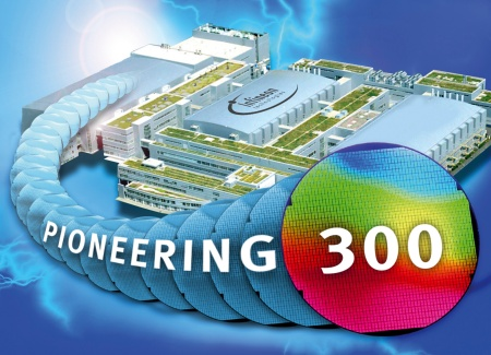 Pioneering 300:  Infineon launches worlds' first 300mm line - The world's first semiconductor line offering ultra-small chips on 300mm wafers is now in volume production at the Infineon Technologies plant in Dresden.