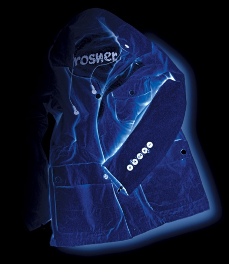 Rosner Introduces Jacket with Integrated Infineon Electronics - Concept of Wearable Electronics Gains Momentum