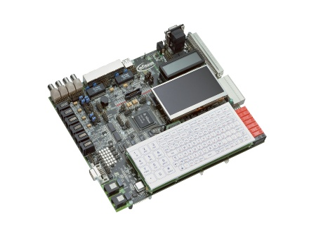GbE, dual-MIPS 24Kc core IP-phone evaluation board for Infineon's INCA-IP2 single-chip solution.