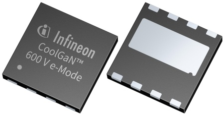 Full production of CoolGaN 400 V and 600 V e-mode HEMTs will start by end of 2018.