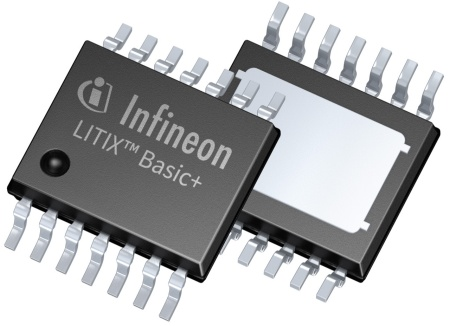 The new Infineon LED driver family LITIX™ Basic+ provides the most flexible LED load diagnosis on the market.