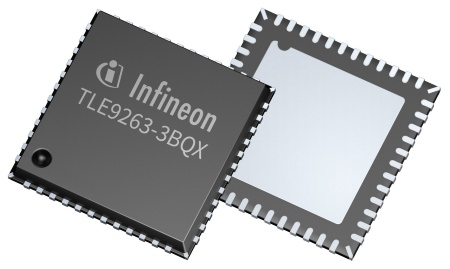 Mid-Range+ System Basis Chips allow communication with up to 5 Mbit/s and incorporate one CAN and up to two LIN transceivers
