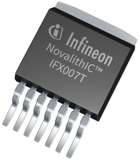The new Infineon NovalithIC™ IFX007T is an easy-to-use high power motor driver qualified for industrial and consumer applications.