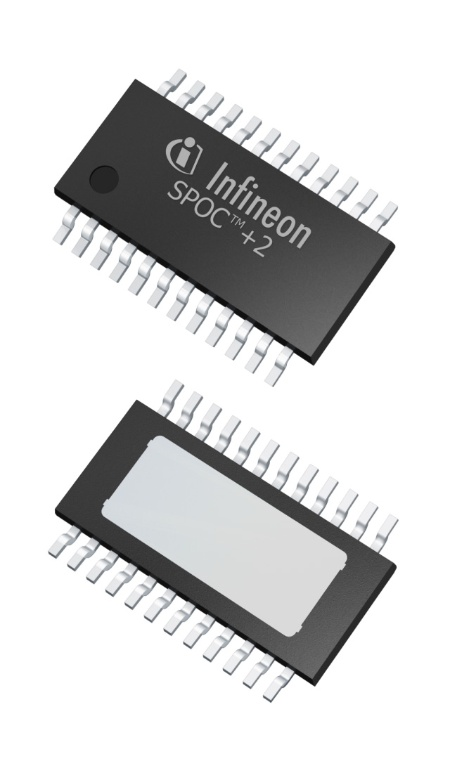 The new Infineon SPOC™+2 multichannel switches incorporate new flexibility features.