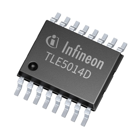 With its XENSIV™TLE5014 angle sensors Infineon combines highest functional safety with an easy-to-use concept