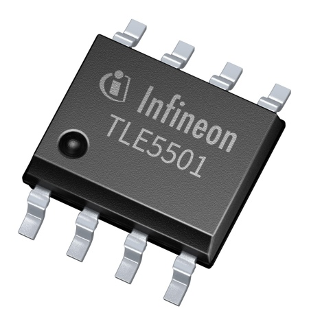 With its XENSIV™TLE5501 TMR-based angle sensors Infineon is the first supplier to reach ASIL D in angle sensors with only one sensor chip