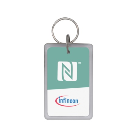 Infineon provides handset manufacturers with SECORA™ Pay W-NFC Type 4 Tag Reference Fobs for interoperability testing with all types of internationally standardized NFC protocols.
