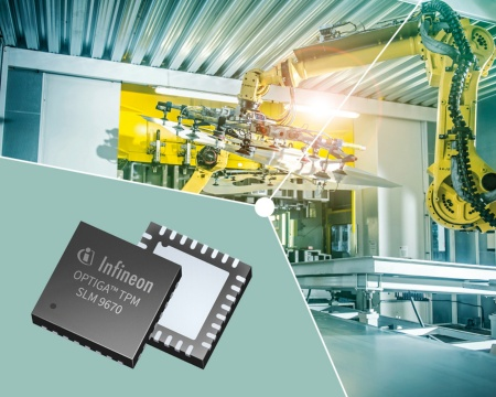 The OPTIGA™ TPM SLM 9670 protects the integrity and identity of industrial PCs, servers, industrial controllers or edge gateways.