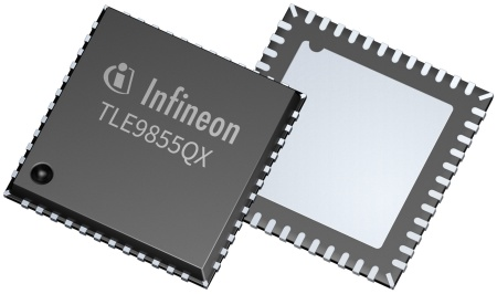 Infineon's TLE985x Embedded Power devices support automotive customers in replacing relays in low-end motor control applications by MOSFETs.